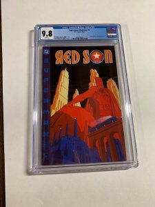 Superman Red Son 2 Cgc 9.8 White Pages Dc Comics