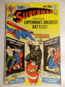 SUPERMAN # 239 DC GIANT