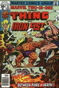 Marvel Two-In-One (1974 series) #25, VF- (Stock photo)