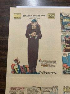 The Spirit Comic Book Section Dallas Moring News June 15 1941