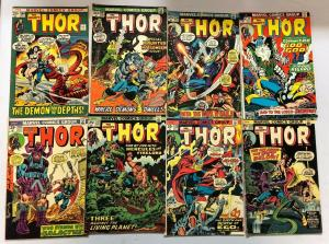 Bronze Age Thor Comic Lot From:# 204-297 avg 4.0 VG (1972-80)