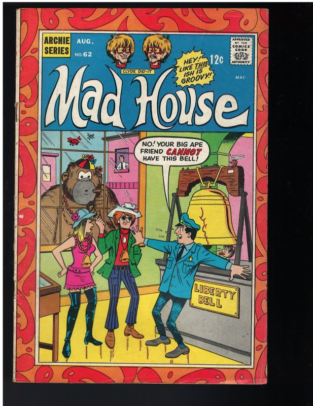 Archie's Madhouse #62 (1968)