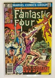 Fantastic Four #228 Newsstand Marvel 1st Series 6.0 FN (1981)