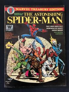 Marvel Treasury Edition #18 1978- The Astonishing Spider-Man Whitman VG
