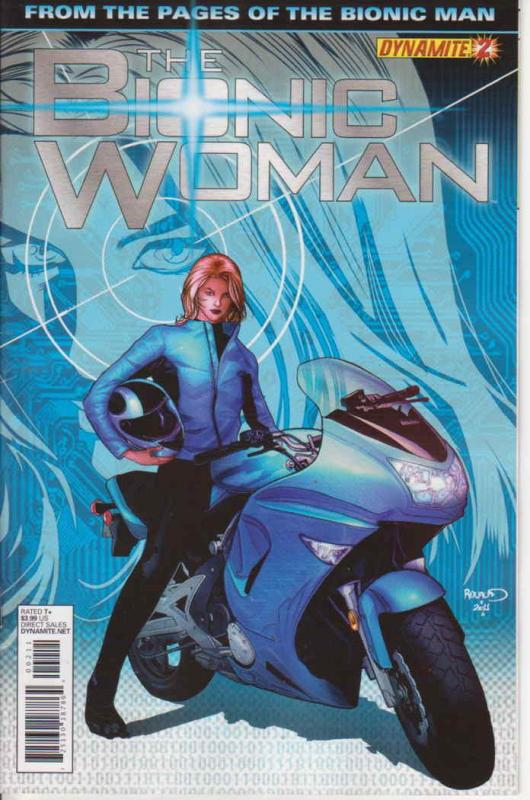 Bionic Woman, The (Dynamite) #2 VF/NM; Dynamite | save on shipping - details ins