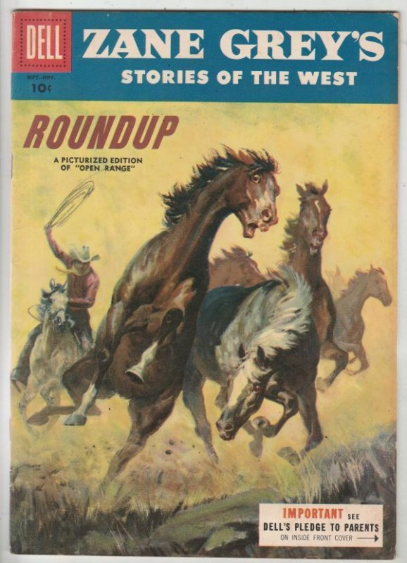 Zane Grey's Stories of the West #27 (Sep-55) VF/NM High-Grade