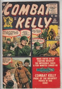 Combat Kelly #35 (Feb-56) VG/FN Mid-Grade Combat Kelly