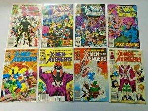 X-Men 2 Sets 8 Different 8.0 VF (1984 + 1987)