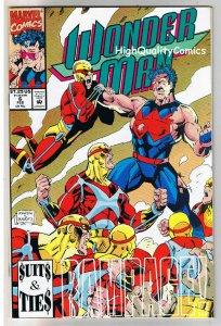 WONDER MAN #6, NM+, Terry Austin, 1991, X-men Beast, more in store