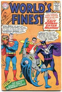 WORLDS FINEST #155 1965-HITCHCOCK-BATMAN-SUPERMAN G