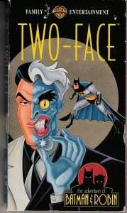 Adventures of Batman and Robin – Two Face VHS