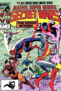 Marvel Super-Heroes Secret Wars #3, NM- (Stock photo)