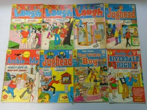 Silver age Archie comic lot 30 different 15c covers avg 3.0 GD VG