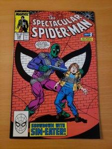 Spectacular Spider-Man #136 Direct Market Edition ~ NEAR MINT NM ~ 1988 Marvel