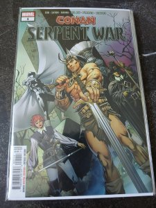 CONAN SERPENT WAR #1 VF/NM