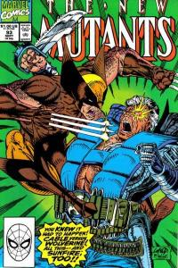 New Mutants (1983 series) #93, NM (Stock photo)