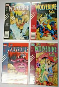 Wolverine Saga #1 to #4 set 4 different books NM (1989)
