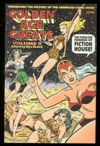 GOLDEN AGE GREATS #9-FICTION HOUSE FEMMES-SHEENA-MYSTA NM