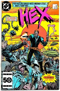 HEX #1 (Sept 1985) 9.0 VF/NM  1st Issue! JONAH HEX in a post-apocalyptic world!