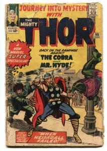 JOURNEY INTO MYSTERY #105-comic book SILVER AGE MARVEL--THOR--JACK KIRBY G-