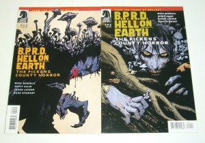 BPRD: Hell On Earth - the Pickens County Horror #1-2 VF/NM complete series set