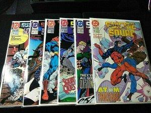 Suicide Squad Comic Books HIGH GRADE Lot #56, 57, 59, 60, 61, 62