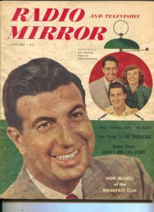 Radio And Television Mirror-Don McNeill-Mary Pickford-Dale Banks-Jan-1950