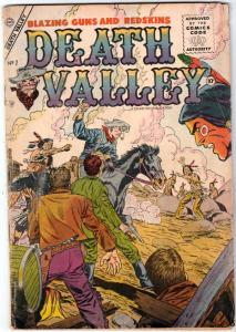Death Valley #7 (Jan-55) VG+ Affordable-Grade Bill Foller