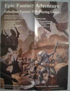 EPIC FANTASY ADVENTURE Promo poster, 17x22, Unused, more Promos in store