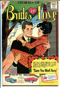 Brides in Love #21 1960-terrific art-spicy poses-10¢-VG