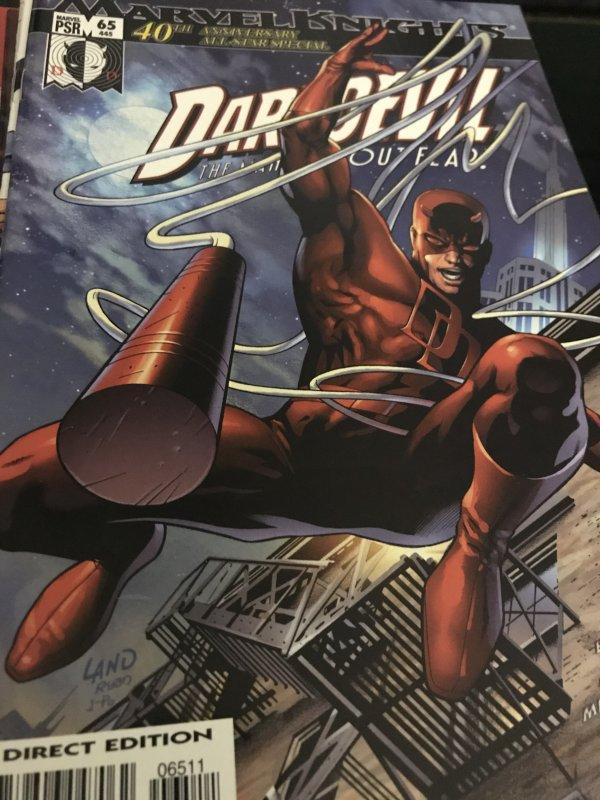 Marvel Knights Daredevil #65 40th Anniversary Mint
