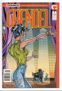 Grendel #8 (Comico, 1987) VG-