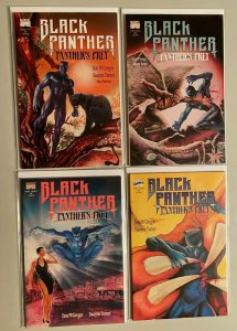 Black Panther Panther's Prey set from:#1-4 all 4 different books 6.0 FN (1991)