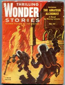 Thrilling Wondering Stories Pulp Fall 1954- Amatuer Alchemist- Coggins cover VG+