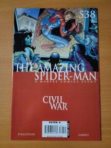 Amazing Spider-Man #538 ~ NEAR MINT NM ~ 2007 Marvel Comics