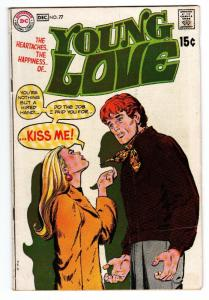 Young Love #77-comic book-DC Romance Cool Cover