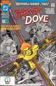 Hawk and Dove (1989 series) Annual #2, VF+ (Stock photo)