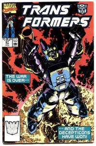 TRANSFORMERS #67-1990-later issue-htf-marvel