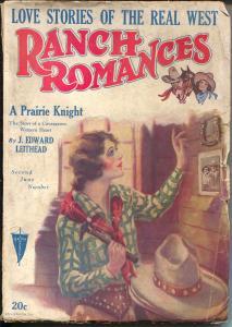 Ranch Romances 2/1929-Clayton-original series-scarce issue-VG