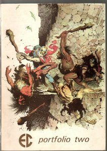 EC Portfolio Two #2 1972-Frank Frazetta cover-Wally Wood-Jack Davis-Alex Toth-VG