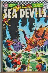 Sea Devils #34 (1967) Silverage!!!