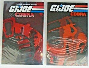 GI Joe Cobra TP (2009-2011, IDW, of 4) 1-2