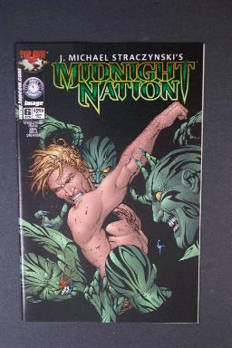 Midnight Nation #6 April 1st Printing j. Michael Straczynski