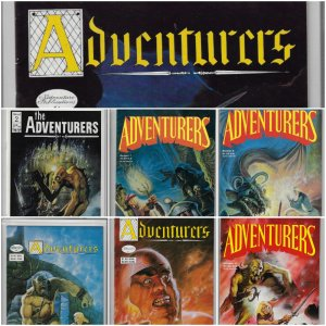 Adventurers #0-10 (Adventure Publications, 1986-1987)  NM Average