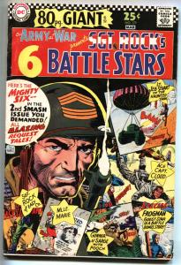 OUR ARMY AT WAR #177 1967-DC-Giant issue-SGT ROCK-VG+