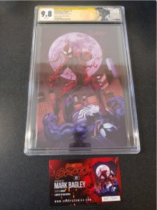 ​ABSOLUTE CARNAGE #1 CGC 9.8 SIGNATURE SERIES VIRGIN VARIANT SS MARK BAGL