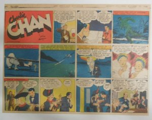 Charlie Chan by Alfred Andriola from 10/13/1940 Half Page Size! 11 x 15 Inches