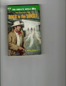 3 Books River to the Sunset Murder City The Confidential Agent Mystery JK8
