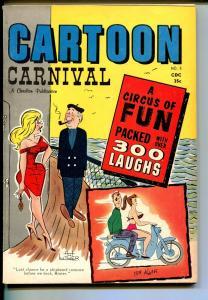Cartoon Carnival #4 1963-Charlton-Engleman-Jack Lohr-FN