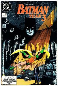 Batman #437 Year 3 Pt 2 (DC, 1989) FN/VF